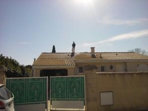 entreprise de nettoyage de toiture à Montpellier